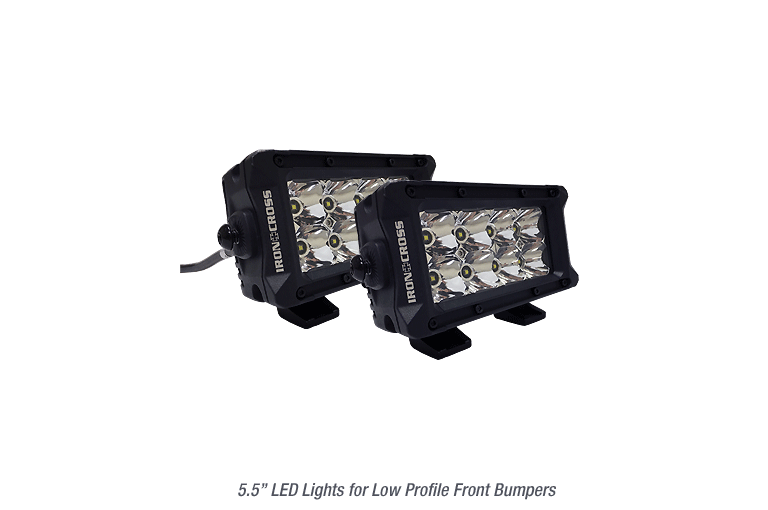 LED Lights for Low Profile Bumpers