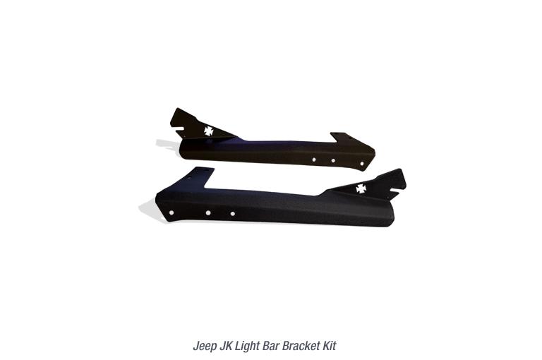 Light Bar Bracket for Jeep JK Light Bars