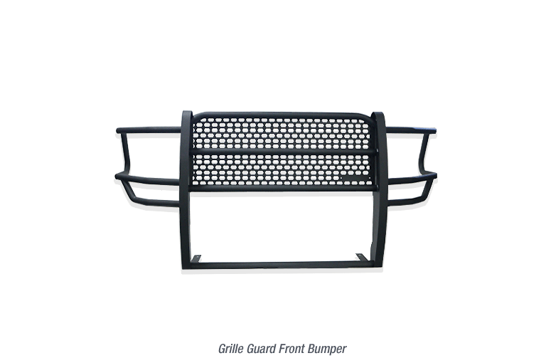 The NEW Commercial Grille Guard Front Bumper