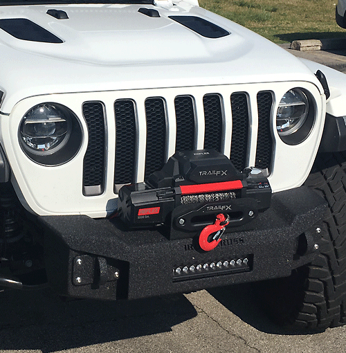 Stubby Front Base Jeep Bumper