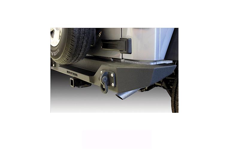Full Sized JK Rear Jeep Bumper without Swing Away Tire