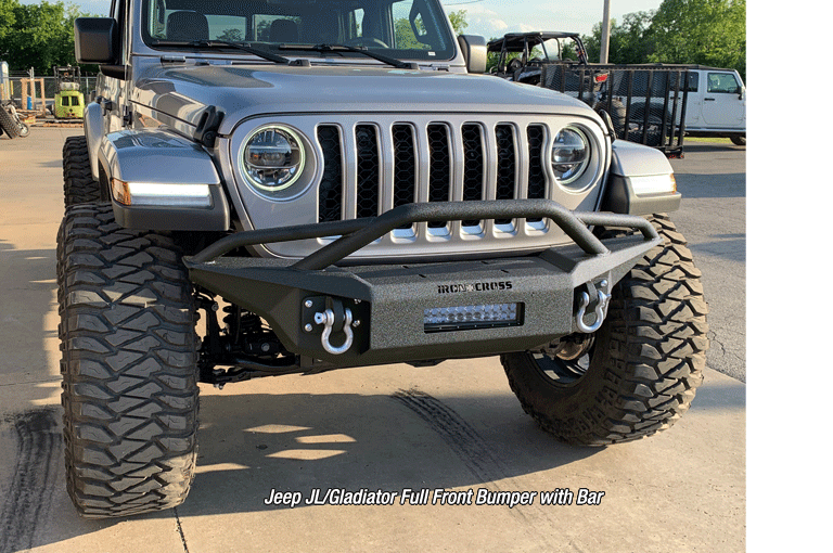 Full Front Base Jeep JL/Gladiator Bumper with Bar