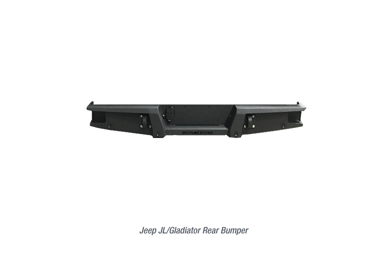 Full Sized Rear Jeep Gladiator Bumper with no Swing Away Tire