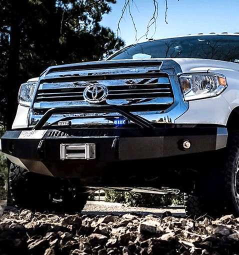 American made Heavy Duty Front Bumpers from Iron Cross