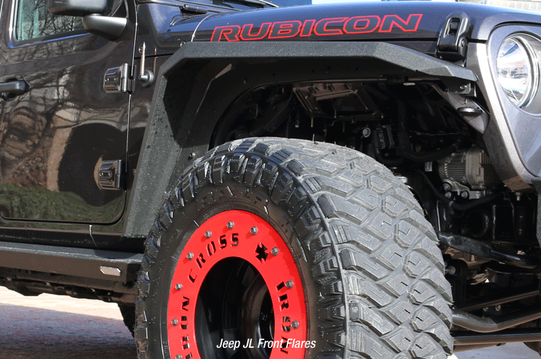 American Made Jeep Fender Flares From Iron Cross Automotive