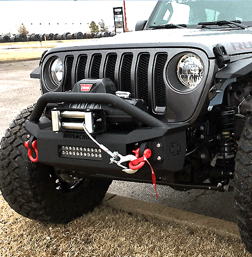 american made jeep bumpers from iron cross automotive