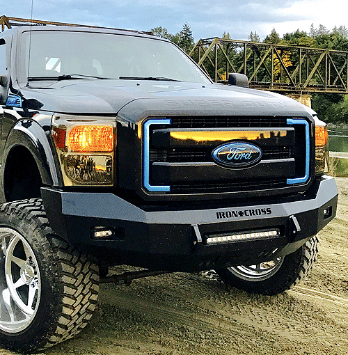 American made Low Profile Bumpers from Iron Cross Automotive