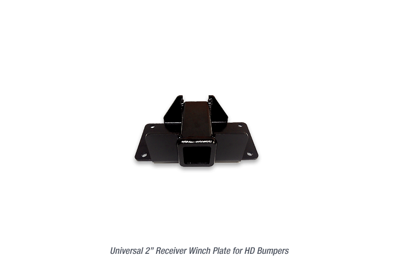 Universal Receiver Winch Plate